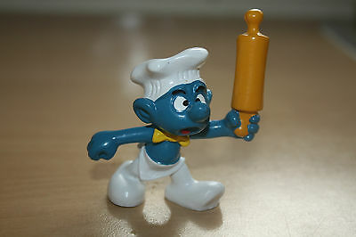 Head Chef Smurf Peyo Bully West Germany 2.0099 Schtroumpfe Schlumpfe Puffi