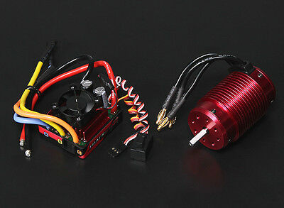 RC Turnigy TrackStar Waterproof 1/8 Brushless Power System 1900KV/120A