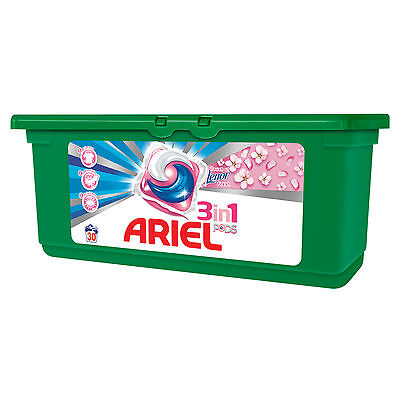 ARIEL Touch of Lenor 3in1 Pods Caps 28 Laundry Washing Machine Capsules