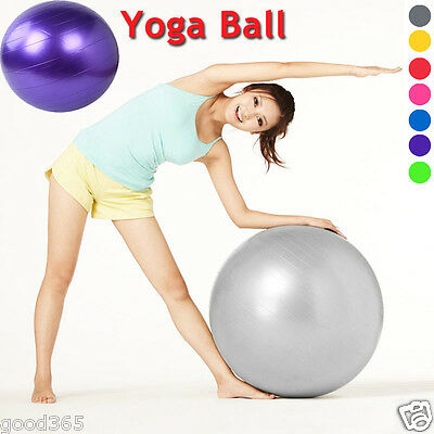 Fitness Exercise Gym Fit Yoga Core Ball Abdominal Back Leg Workout Weight Loss