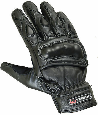 Court Protection Coque En Carbone Cuir Moto Motocycle Gants Réflective