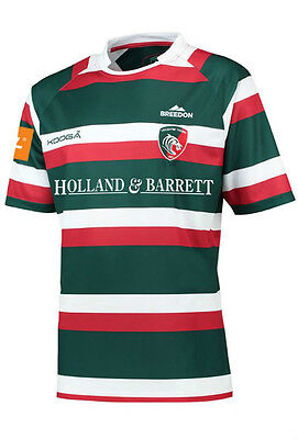 Leicester Tigers Kooga Home Mens Replica Jersey 16/17