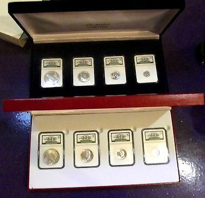1922 & 1923 Ngc Silver Binion  Red & Blue Type Sets  Matching #  5 Of 2500