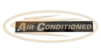 Bobcat Air Conditioning Decal Skid Steer Loader S220 S250 S300 S330 T250 T300 AC