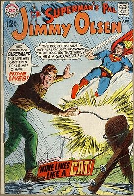 Superman's Pal, Jimmy Olsen #119 - G/VG