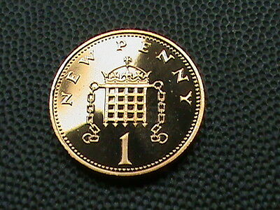 GREAT  BRITAIN    1  penny   1980     PROOF