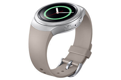 ◆New GENUINE Original Samsung Gear S2 Basic Strap / Band /ET-SUR72 (Warm Grey)