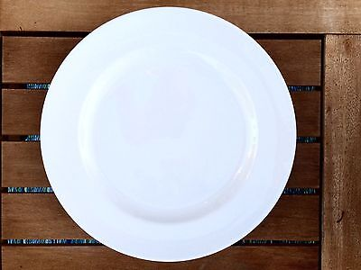 "(REDUCED AGAIN)  Steelite International Monaco White Plates 11.75"" 30cm 9001c357"