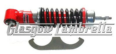 Carbone Italian Top Quality SMALL FRAME VESPA BLACK / RED FRONT SHOCK ABSORBER