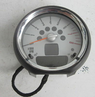 Genuine Used MINI Chrome Rev Revolution Counter for R56 R55 R57 R58 - 9178747