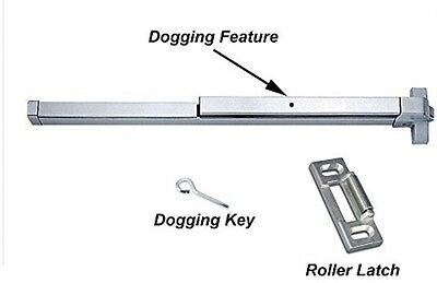 Push Bar Panic Exit Device Aluminum Commercial Emergency Door Safety Hardware