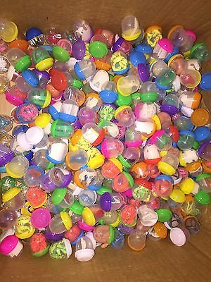 "1000 1"" TOY FILLED VENDING CAPSULES BULK MIX BIRTHDAY PARTY FAVOR Figurines"