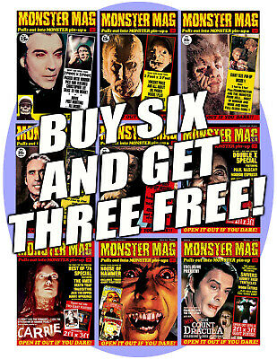MONSTER MAG special offer - all six Quality issues for the price of four!