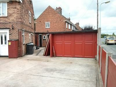 Heavy Duty Garage Doors Garden Gates Large Big Drive Being Scrapped