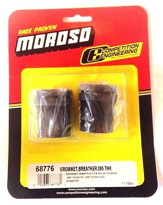 Moroso 68776 Valve Cover Breather Grommets w/ Integrated Baffle