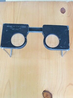 WWII Era US ARMY CF-8 Stereoscope Abrams Instrument Corp Map Reader