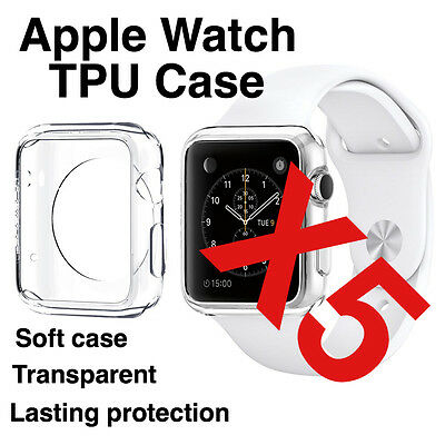 X5 Apple Watch 38mm Transparent TPU Protective Case