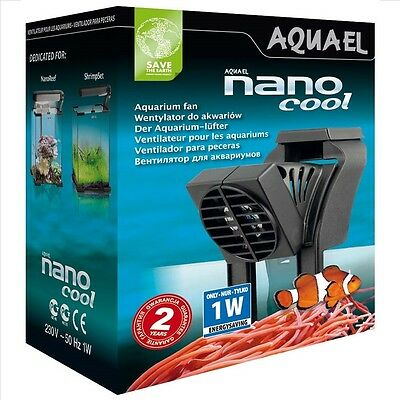 AQUAEL NANO COOL AQUARIUM FAN 1W FISH TANK COOLER Nr 110532