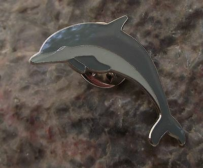 Bottlenose Common Grey Dolphin Ocean Sea Marine Mammal Brooch Pin Badge