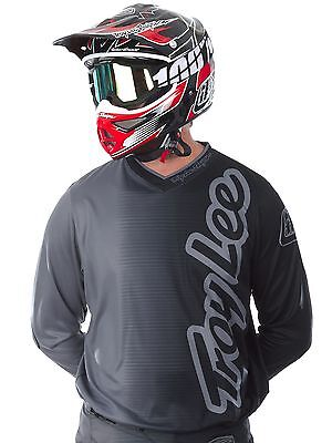 Jersey MX Troy Lee Designs 2017 GP 50-50 Charcoal