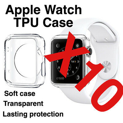 X10 Apple Watch 38mm Transparent TPU Protective Case