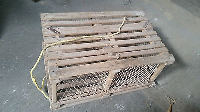 Authentic Wood Lobster Trap from Nova Scotia