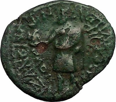 CLAUDIUS 41AD Aezanis in Phrygia ZEUS EAGLE Authentic Ancient Roman Coin i57533