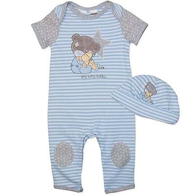 Tatty Teddy Romper With Matching Hat Beanie, Licensed Brand New Express Postage