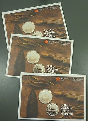 1985 Mint Set - Uncirculated - Certificate - Sealed - Royal Canadian Mint Issue