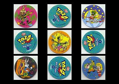 Tazo/tazos: Series 1: Full/complete Set #1-40 [Looney Tunes] Blue Backs