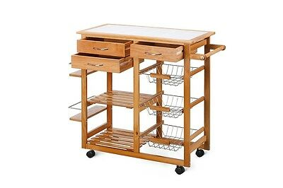 Storage Trolley Ovela Ceramic Kitchen Stylish Storage Wood Furniture Vegetables