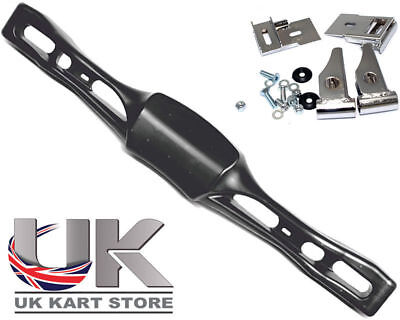 KG CIK Euro Black Rear Plastic Bumper & Fitting Kit UK KART STORE