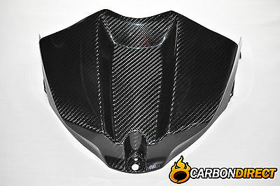 Yamaha R1 100% Carbon Fibre Front Fuel Tank Cover In Gloss 2009 - 2014 14B