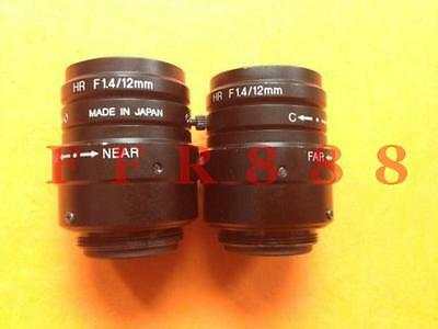 USED Keyence high-resolution lens CA-LH12 HR F1.4/12MM