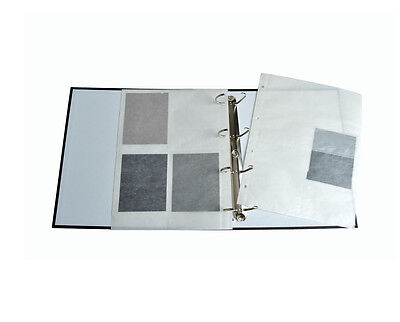 Glassine 4 x 5 Negative Sleeves for Ringbinders (25 sheets)