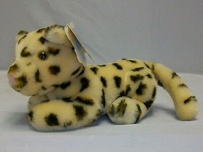 Vintage Dakin LONNIE LEOPARD #31-2220 1986 Nature Babies HARD TO FIND