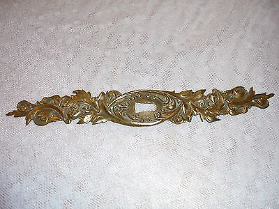 French bronze door  plates with keyhole antique gorgeous patterned