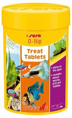 Sera O-Nip 24,100,265 TABS Attaching tablets as a delicacy for healthy variety