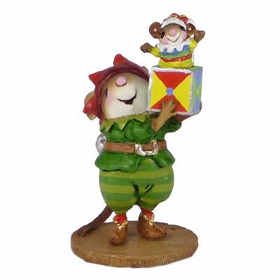 SANTA'S ELF MOUSE by Wee Forest Folk, WFF# M-550, Christmas 2015