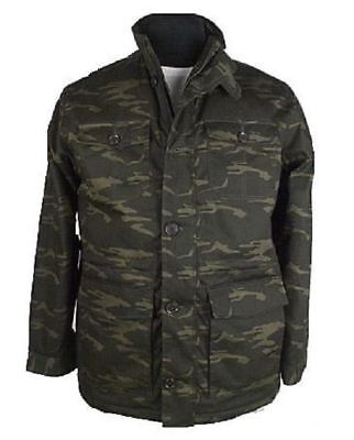 Espionage Mens Military Style Camouflage Coat In Size 2Xl To 8Xl