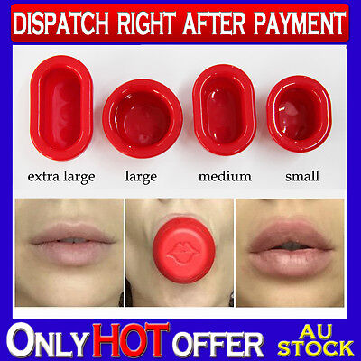 Lip Pump Full Lips Enhancer Plumper make your lips look fuller 4 size choices