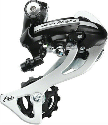 Mountain Bicycle Rear Derailleur M360-SGS Long Cage 7/8 Speed for Shimano Acera