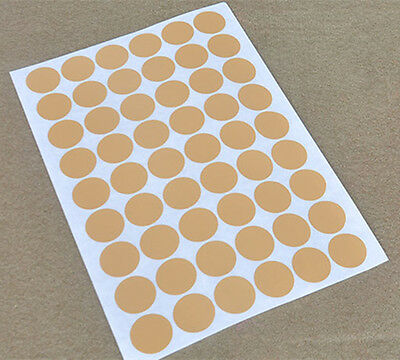 3cm Simulated Kraft Paper A4 Round Self Adhesive Stickers Laser Printer Labels