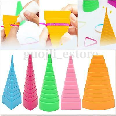 5X Paper Quilling Border Buddy Bobbin Tower Tool Quilled Creation Craft DIY Kit