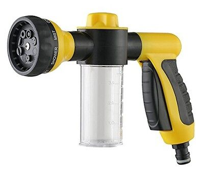 SOMMERLAND A3020 Garden Hose Nozzle 8-Pattern Hand Sprayer with Soap or