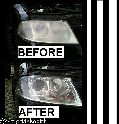 Fast Headlights Cleaner Polish Kit Cleaning -_-