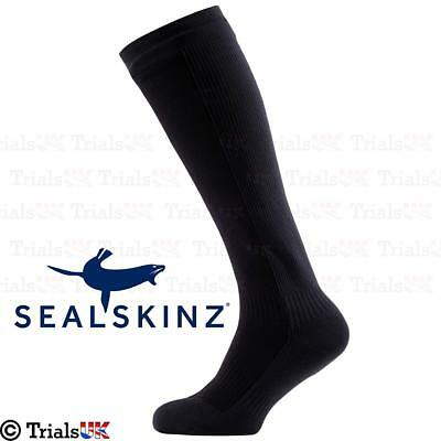 SealSkinz Waterproof Knee Length Sock - Walking/Fishing/Hiking/Motorbike/Offroad