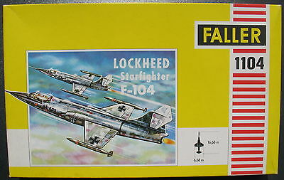 FALLER 1104 - LOCKHEED Starfighter F-104 - 1:100 - Flugzeug Bausatz - Model KIT