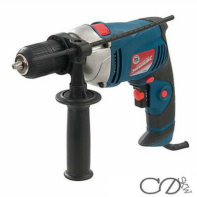 710W Variable Speed Electric Hammer Action Power Drill For Steel Concrete & Wood