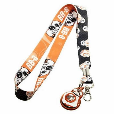 Official Star Wars: The Force Awakens Bb-8 Tiled Lanyard (Brand New)